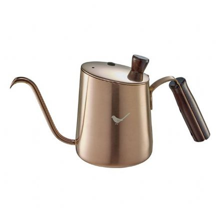 SALE Tiamo Coffee Pot 650ml with lid -Bronze